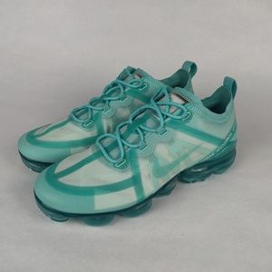 NIKE Air VaporMax 2019 Teal Tint Athletic Shoes 8
